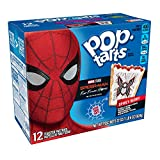 Pop-Tarts Marvel's Spider-Man, Far From Home, Breakfast Toaster Pastries, Spidey Berry, 22oz (Pack of 12)