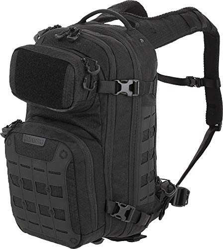 Maxpedition Unisex-Erwachsene Riftcore v2.0 CCW-Enabled Backpack 23L Rucksack, schwarz, Medium