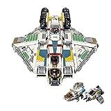 WANZPITS El Fantasma VCX-100- Rebelde El Kit De Construcción De Fletes Armados; Construir Coleccionables Collectiable Star Wars UCS Nave Espacial Juguete Modelo De Cumpleaños, Nuevo 2021