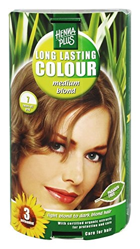Hennaplus - 49136 Long Lasting Colour - Coloration longue durée - 7 Medium Blond