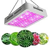 600W LED Grow Light Full Spectrum Grow Lámpara para Plantas de Interior Vegetales y plántulas Vegetales y Flores en Plantas de Carpas de Invernadero-Nosotros Uptodate