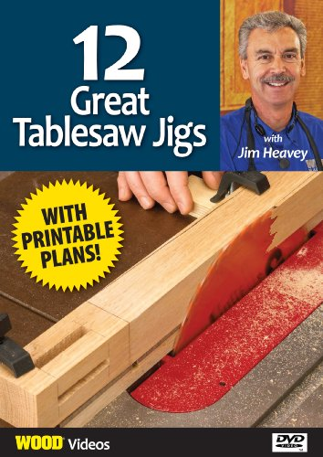 The Best of Jim Heavey on DVD: 12 Great Tablesaw Jigs DVD