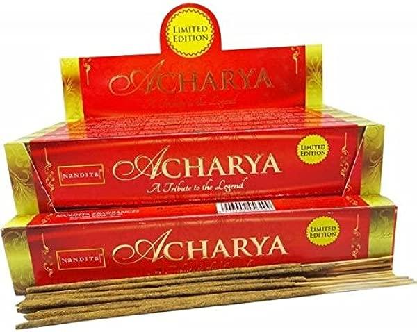 NANDITA ACHARYA INCENSE STICKS 50g Boxes 4