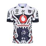 RENDONG 2020 Guerrier Maillot De Rugby pour des Hommes Sports Occasionnels T-Shirt Vêtements De Football,Blanc,5XL