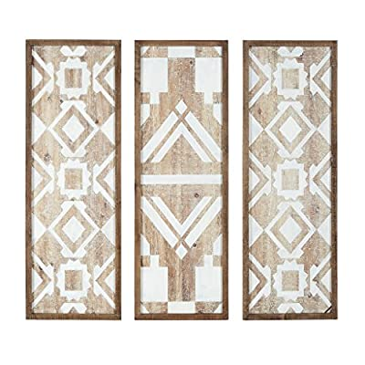 Madison Park Mandal Printed Wood Wall Decor Set of 3 from