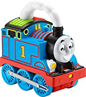 Fisher-Price Thomas & Friends Storytime Thomas, Interactive Push-along Train with Lights, Music and Stories for Toddlers...