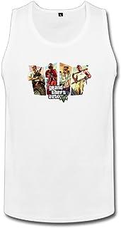 成人 面白い グランド セフト オート ポスター ベスト 100%棉 White