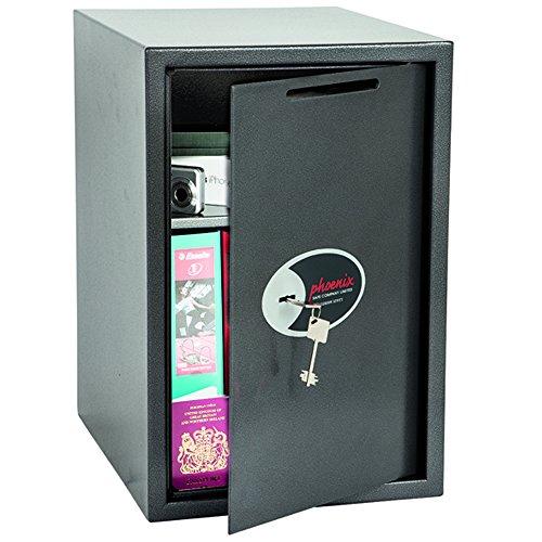 Phoenix SS0805KD Vela Deposit Home & Office Safe met sleutelslot (zeer groot)