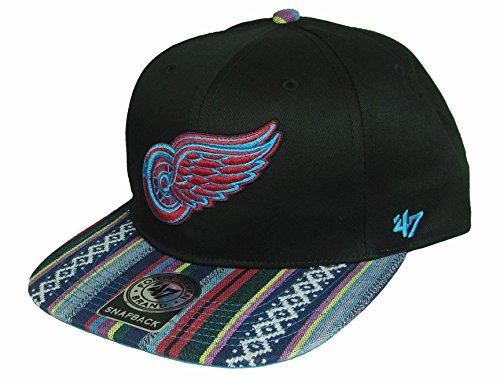 Unbekannt Detroit Red Wings NHL Snapback Cap The Dude '47 Brand (H-TDUDE05CTP-BKA)