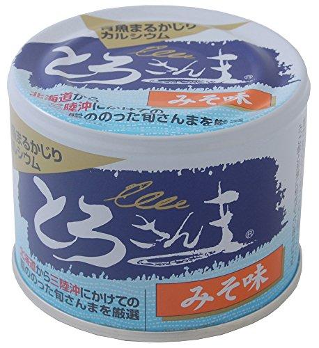 千葉産直サービス トロ缶シリーズ『とろさんま みそ味』