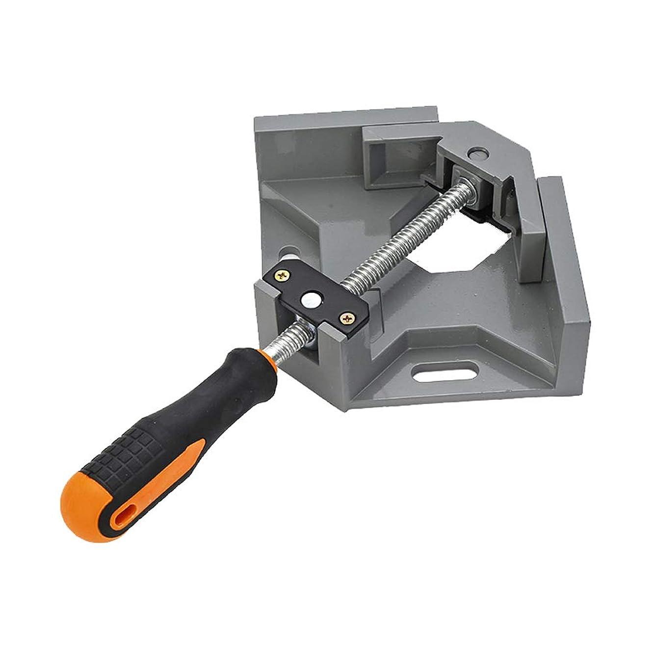 アーサー幸運なことに夜ASOSMOS コーナークランプ 直角クランプ 調整可能 90度固定 バイス 定規 溶接 大工 木工 DIY ツール アングルクランプ