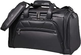 Golf Clothing Bag, Travel Handbag, 100% Waterproof, Black, 47×23×32cm happyL
