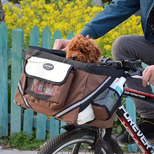 Ronshin Fiets Voor Huisdier Carrier Fiets Mand Tas Huisdier Carrier Booster Hond Kat Fietsen Fietstas