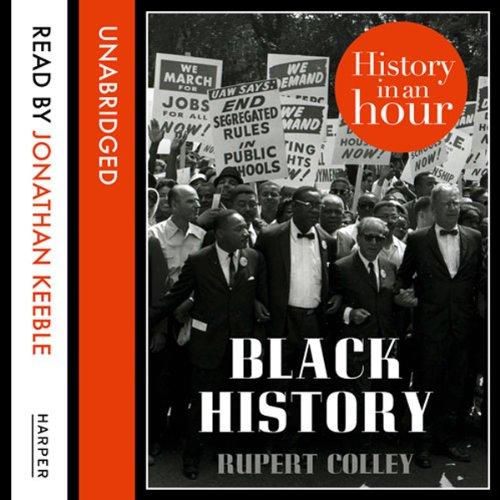 Black History: History in an Hour audiobook cover art