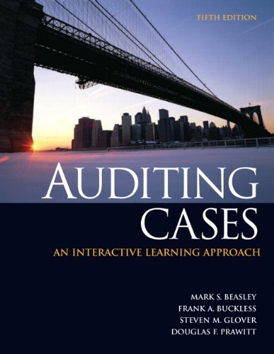 Free download auditing cases an interactive learningapproach 5th download auditing cases an interactive learning approach 5th edition by mark s beasley frank a buckless fandeluxe Images