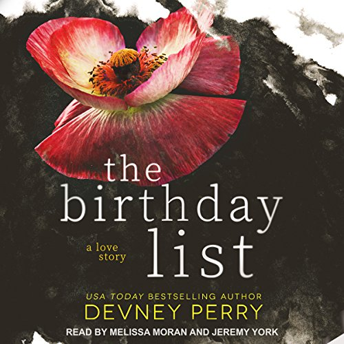 The Birthday List audiobook cover art