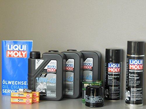 Kit de mantenimiento para Yamaha FZ6 Fazer, filtro de aceite, bujía, cadena, inspección