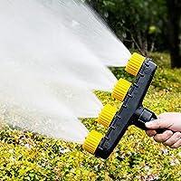 マルチヘッドの芝生用スプリンクラー 芝生や庭用のスプリンクラーをカバーする広いエリア スプリンクラーヘッド 散水 高圧洗浄機ガーデンスプレー自動洗車ガーデンツール機器
