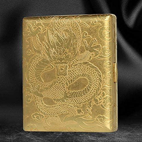 Wangcbqp Max 52% OFF YANGPING- Brass Cigarette Case Creative Industry No. 1 pcs Portable 20