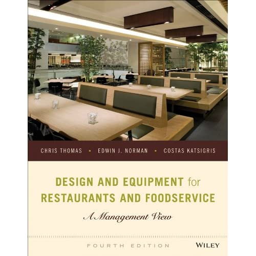Design And Equipment For Restaurants And Foodservice A