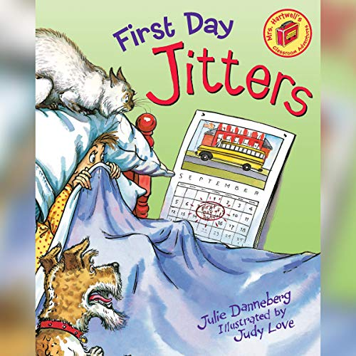 First Day Jitters audiobook cover art
