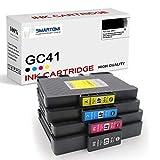 SMARTOMI GC41 GC41XL Compatibili con RICOH GC41 XL Cartucce d'inchiostro, per Stampanti RICOH Printer SG2010L SG2100 SG3100 Aficio SG3110DN SG3120BSF SG7100 Series(4 Pacco)
