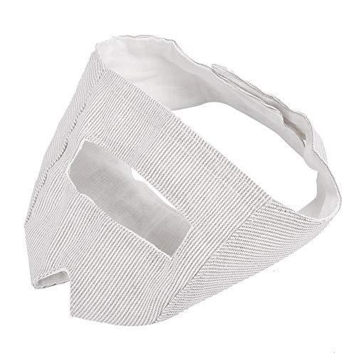 Tapa bucal para Mascotas, bozal de algodón Transpirable para Gatos Boquilla Protectora Anti-mordida para morder Entrenamiento de ladridos(S)