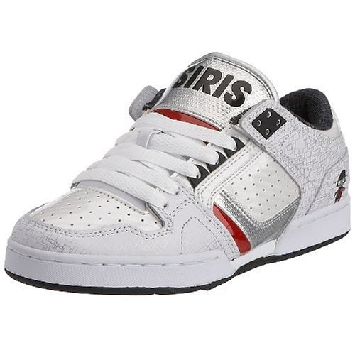 Osiris Damen Harlem Skate Schuh, Weiß (Roboter/Weiß/Silber), 41 EU