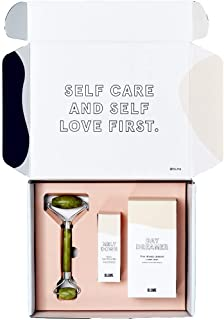 BLUME Glowy Skin Gift box & Bundle | Organic & Natural| Daydreamer Face Wash |Meltdown Acne Treatment Oil |Plus a Jade Rol...
