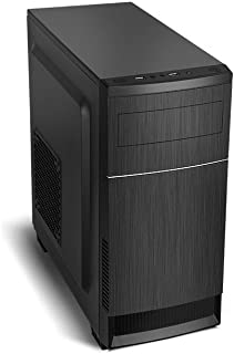 Nox Virtus - NXVIRTUS - Caja PC, Micro-ATX, USB 3.0, Color Negro