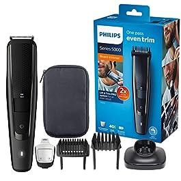 Philips BT5515/15 Tondeuse Barbe Series 5000 avec Guide de Coupe Pro Dynamique