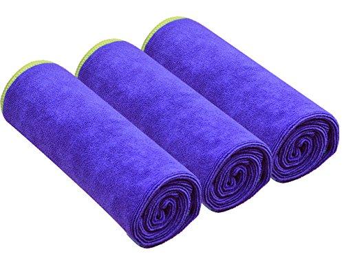 SINLAND Microfiber Gym Towels Sports Fitness Workout Sweat Towel Fast...