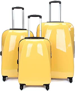Trolley Suitcase 20in 24in 28in Lightweight Suitcase Hardshell Luggage 3 Piece Set Nested Sets Carry-on Uprights Suitcase ...