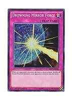 遊戯王 英語版 MP17-EN041 Drowning Mirror Force 波紋のバリア -ウェーブ・フォース- (シークレットレア) 1st Edition