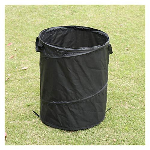 WDFDZSW Tragbare Faltbare Aufbewahrungsbeutel, verwendet im Yard Garten-Blatt-Speicher-Mülleimer-Darm-Trash-Tasche-Blatt-Aufbewahrungstasche