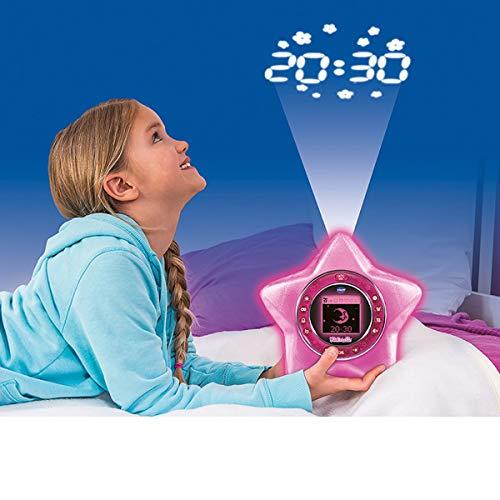 Vtech 80-520404 KidiMagic Starlight, Kinderwecker, Mehrfarbig