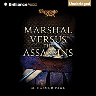 Marshal versus the Assassins cover art