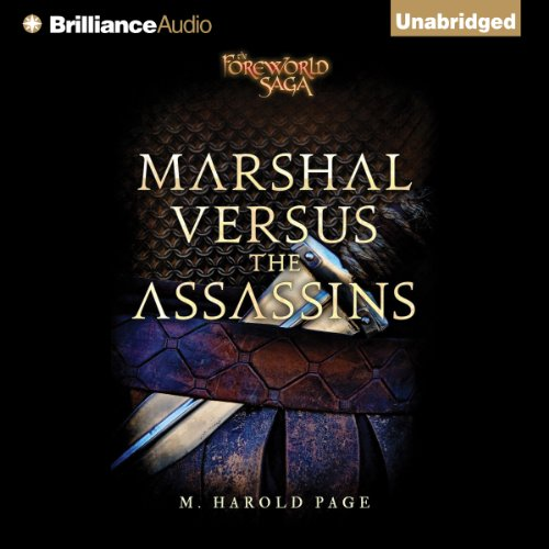 Marshal versus the Assassins audiobook cover art