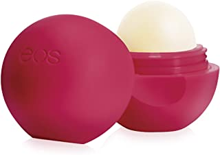 eos Organic Lip Balm Sphere - Frambuesa granada | Naturales y orgánicos | Bálsamo Labial 100% Natural | Hidrata y sella profundamente en humedad | 0.25 oz.
