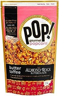 Almond Roca Butter Toffee Popcorn, by POP Gourmet, 7oz