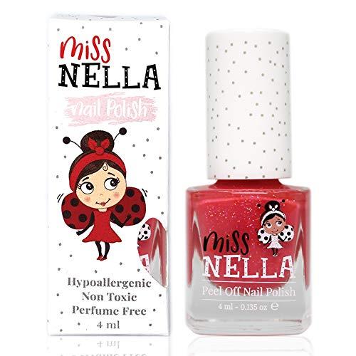 Miss Nella MARSHMALLOW OVERLOAD- Spezieller Rosa Nagellack mit Glitzer für Kinder, Peel-Off-Formel,...