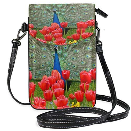 Make Up Bag,Cellphone Bag With Handle Ocean Sunset Zipper Canvas Coin Purse Wallet