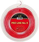 Kirschbaum PRO Line No. II 200M Rot Tennis String Reel 200M Monofil Red 1,15