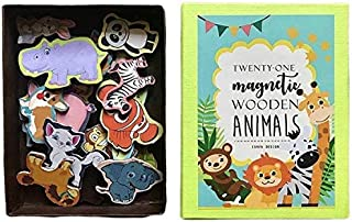 Animal Wooden Magnets