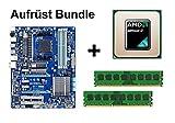 Aufrüst Bundle - Gigabyte 970A-UD3 + AMD Athlon II X4 610e + 4GB RAM #122680