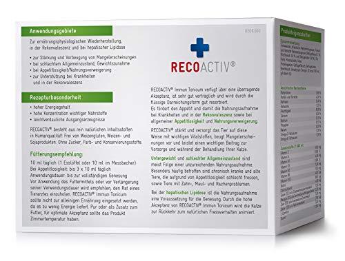 RECOACTIV® Immun Tonicum für Katzen – Kurpackung 3×90 ml - 2