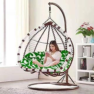 Silla Colgante Doble, diseño Moderno para Porche, jardín o decoración Interior