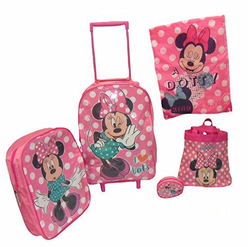 Sambro Minnie Mouse Set Trolley (5 pezzi)