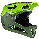 Leatt Casque MTB 4.0 Enduro Casco de Bici, Unisex Adulto, Verde Fluor, Medium