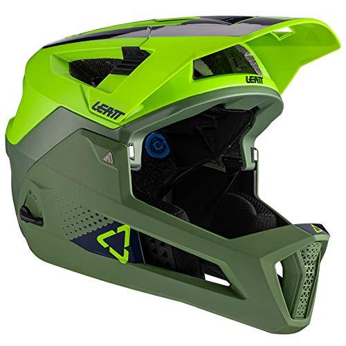 Leatt Casque MTB 4.0 Enduro Casco de Bici, Unisex Adulto, Verde Fluor, Large